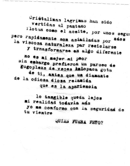 Poemas higiénicos I